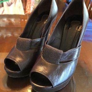 Chloe Peep Toe Heels